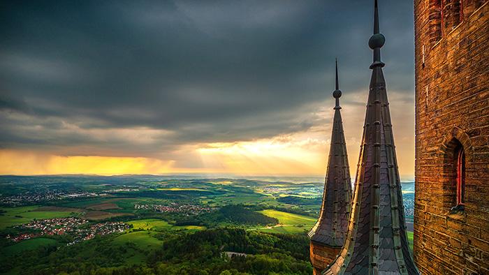 Swr Wetterfoto Des Monats Stammt Vom Fahnenturm Burg Hohenzollern