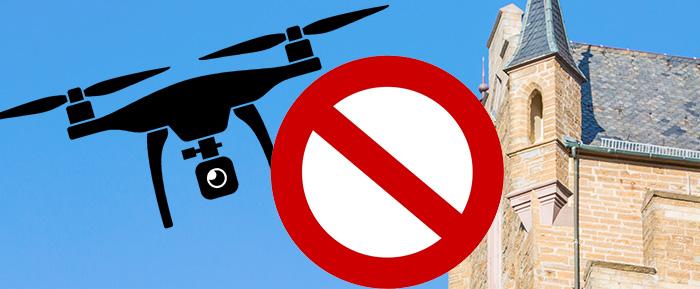 Drohnen Verbot Burg Hohenzollern