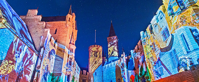 Shooting Star Nights 2019 Burg Hohenzollern En