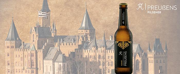 Preussens Pilsener Online Shop Burg Hohenzollern