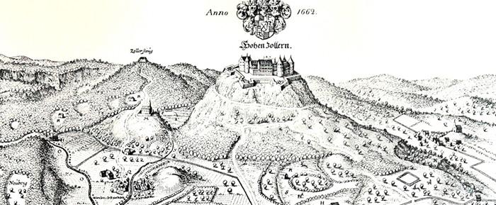 Geschichte Der Burg Burg Hohenzollern