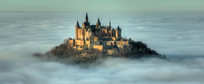 Uber Den Wolken Burg Hohenzollern