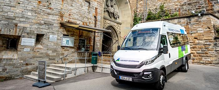 Shuttle Bus Burg Hohenzollern En