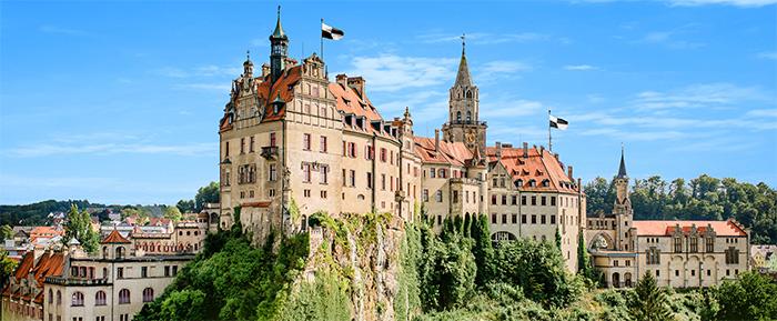 Schloss Sigmaringen Burg Hohenzollern