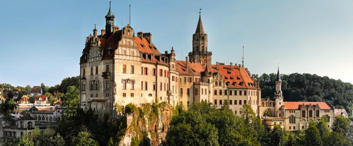 Sigmaringen Castle Burg Hohenzollern En