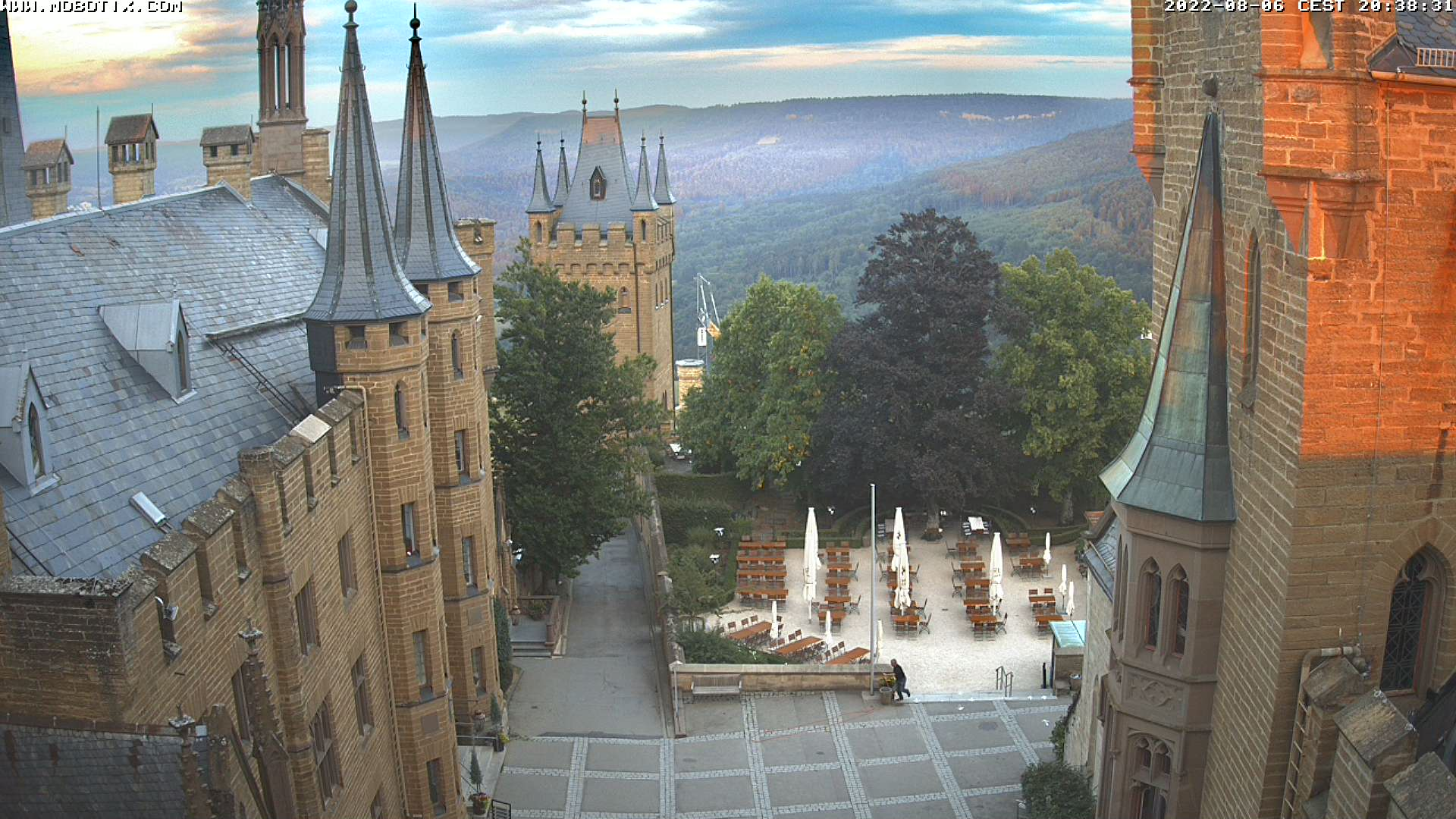 Burg Hohenzollern - Webcam